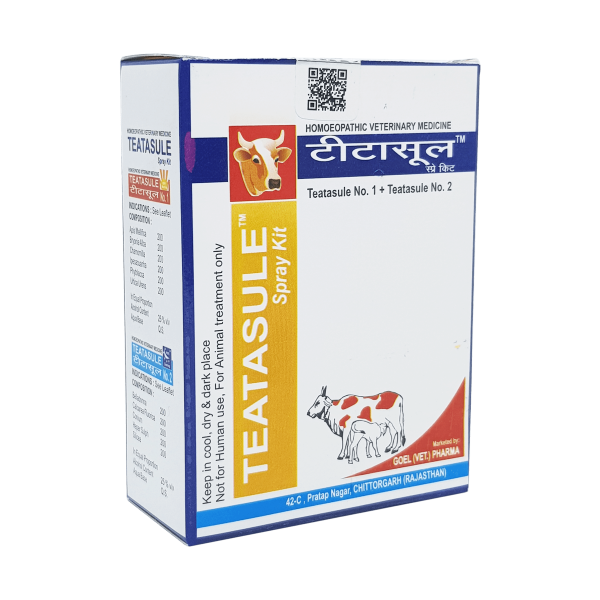 Homeopathic veterinary medicine for Mastitis of cow