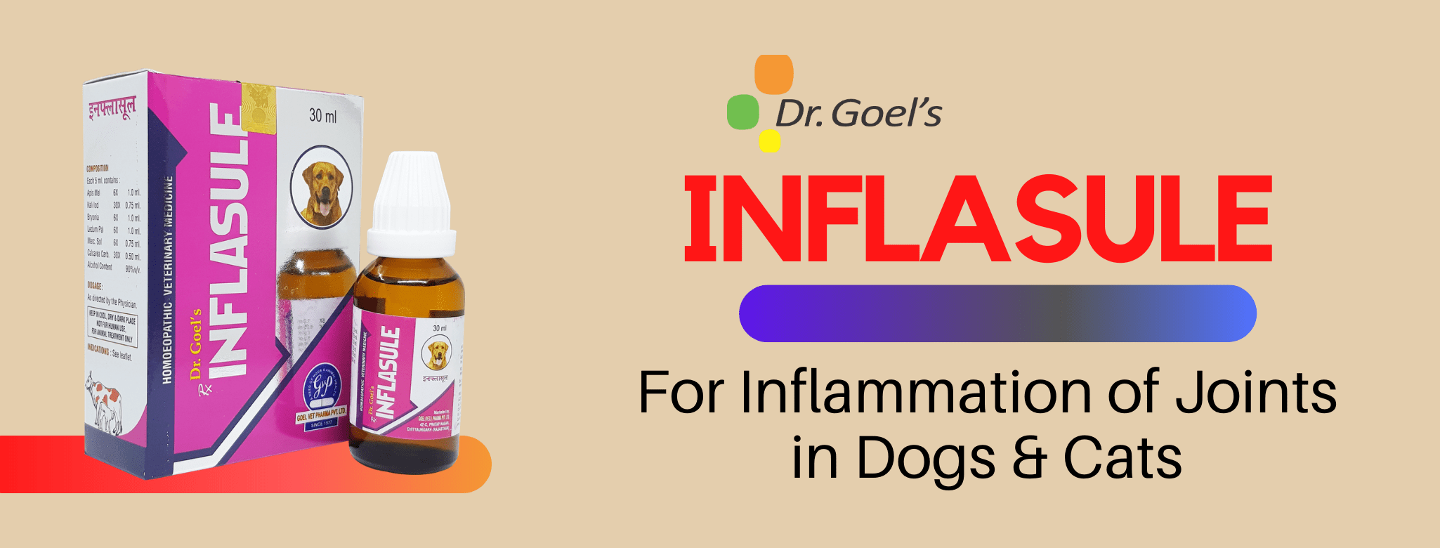 Homeopathic Animal Medicine for Infalmmation