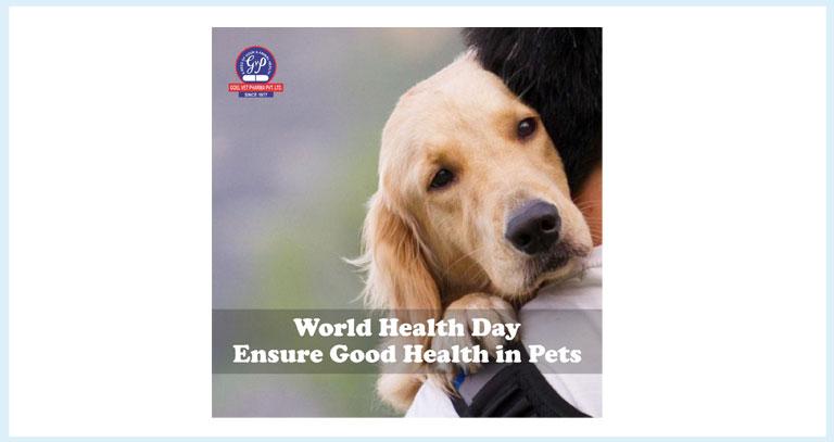 Sunshine Of Pet Health  World Health Day 2021